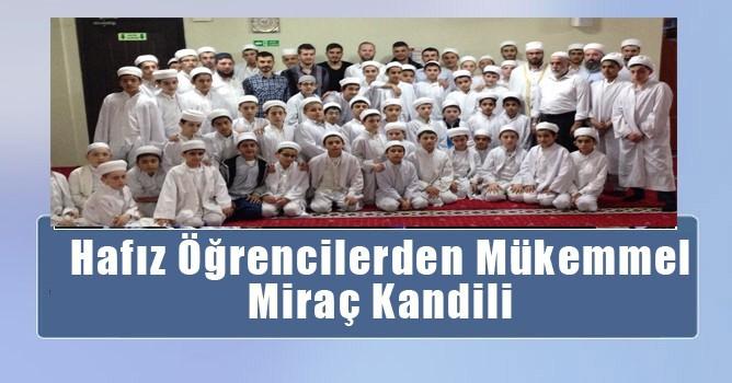 Yeşil Camii'nde Hafız Öğrencilerden Miraç Kandili Programı