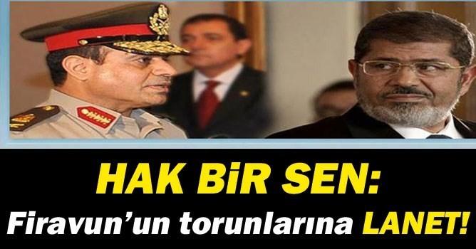 HAK BİR SEN'DEN Mursi'nin İdam Kararına Sert Tepki