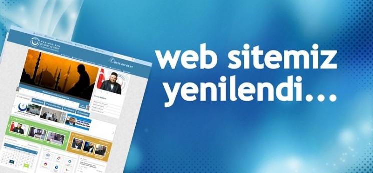 Yeni Web Sitemiz Yayına Girmiştir